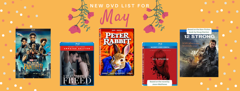 May 2018 New DVD List