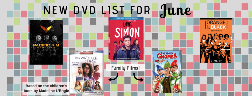 June New DVD List