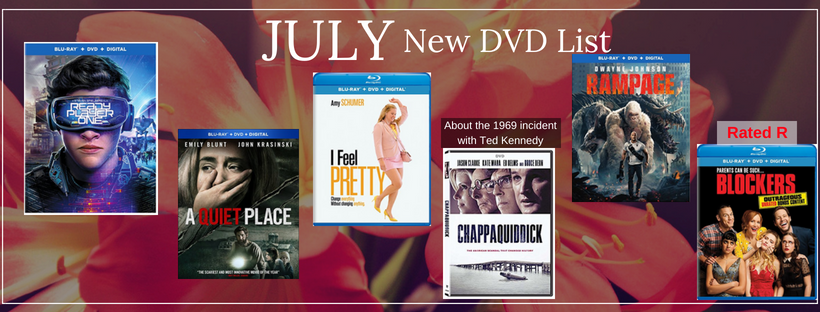 New DVD List for JULY 2018