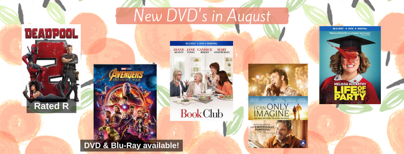 August 2018 New DVD List