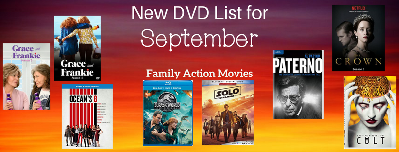 September 2018 New DVD Listwebsite