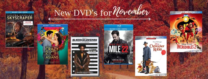 Copy of November 18 New DVD List