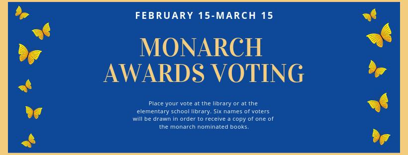 Copy of Monarch Awards voting