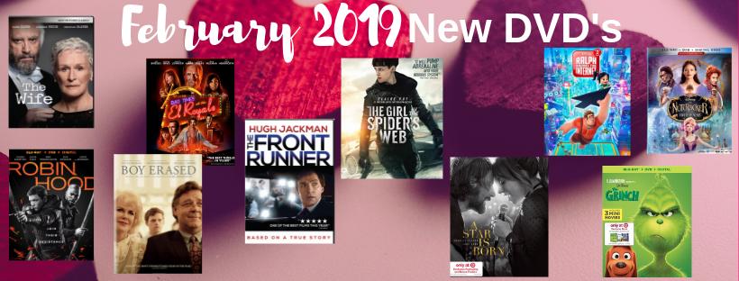 Copy of February 19 New DVD List