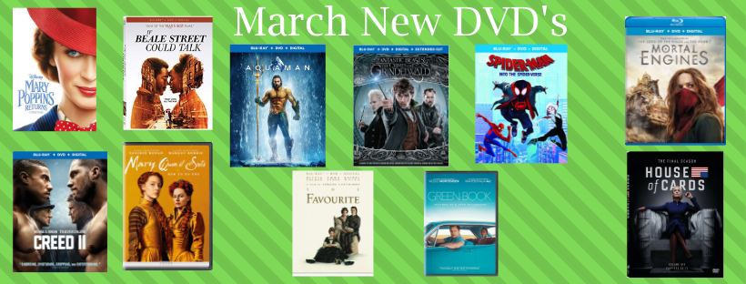 Copy of March 2019 New DVD's